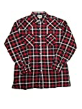 Ely Cattleman Tall Mens Western Quilted Flannel Plaid 4-Shirt Bundle Pack
