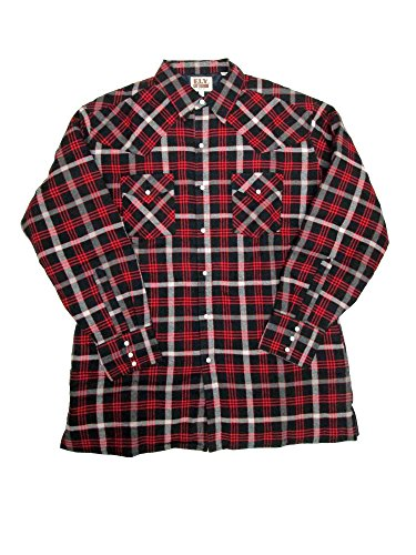 Quilted Flannel Work Shirt - 8