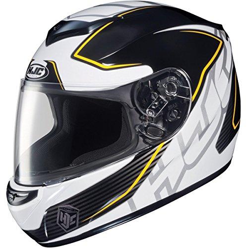 HJC Injector Men's CS-R2 Street Bike Motorcycle Helmet - MC-3 / X-Small (Mc3 Motorcycle Helmet)