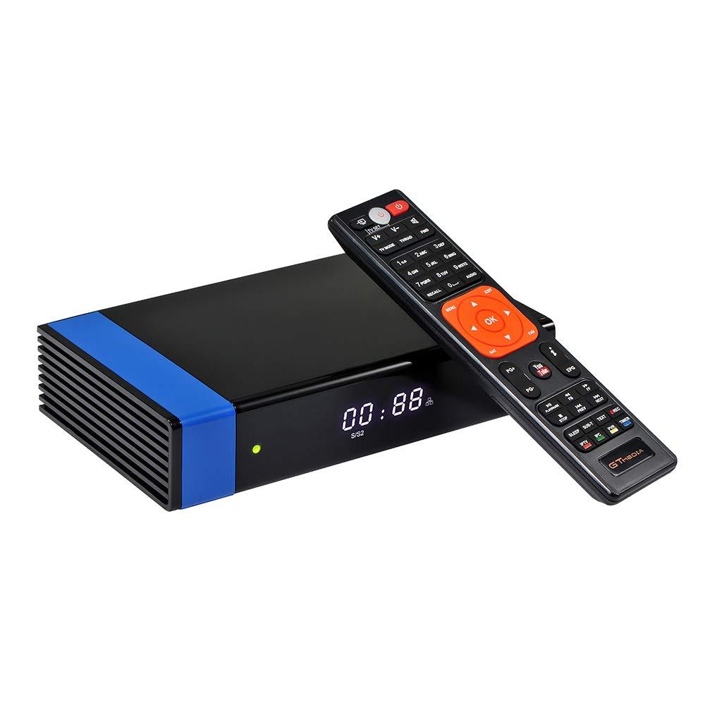 Docooler GTMEDIA V8 NOVA Blue Set Top Box Universal DVB-S2 TV Receiver Digital Video Broadcasting Receiver Full HD 1080P Built-in WiFi Support H.265 EPG by Docooler (Image #1)