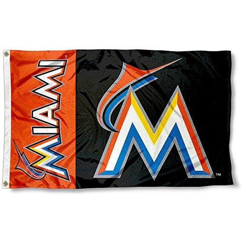 Miami Marlins Flag 3x5 MLB Banner