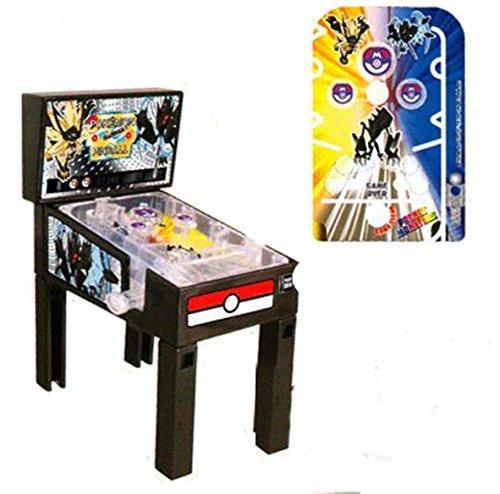 Anime1stop Pokemon Sun & Moon Mini Pinball Machine Ultra Sogaleo & Lunala Necrozma Desktop Collection Minature Pocket Toy Collectible Party Favors