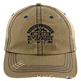 Forget Princess Hat, I Want To Be A Zoologist Trucker Cap (Trucker Cap - Khaki)