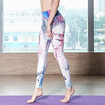 JIALELE Pantalon Yoga El Sello De 12 Constelaciones ...