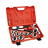 9TRADING 11 Lever Hydraulic Tubing Expander Swaging Punches Tools HVAC Tube Piping Pipe