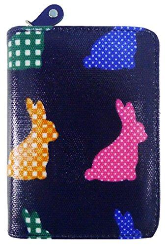 Sac Chats Dames Blue Clutch Kukubird De Dark Floral Motif Moyennes Rabbit Licornes Animaux Ancre Wallet Divers Parapluie Pvxwg5