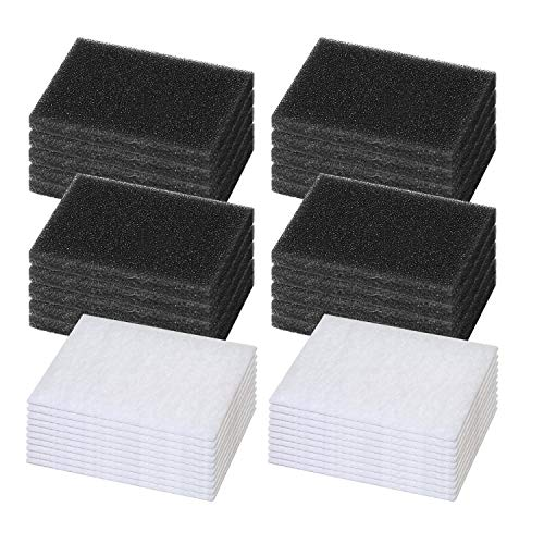 40 Pack CPAP Foam Filters Philips Premium Air Filter, Universal Replacement Filter Fits Philips Respironics M Series, PR System One and SleepEasy Series CPAP Standard Machines