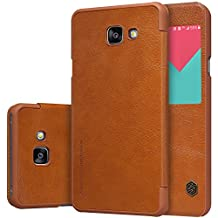 Nillkin Samsung Galaxy A5 2016 (A510F) Qin Leather Case-Retail Packaging, Brown