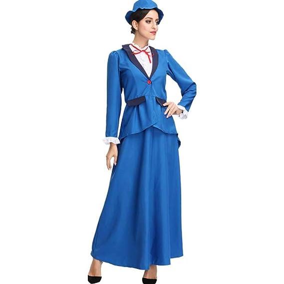 Amazon.com: Disfraz de niñera de estilo victoriano para ...