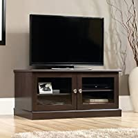 Sauder Select TV Stand in Cinnamon Cherry