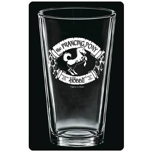 (Prancing Pony Premium Etched Pint Glasses)