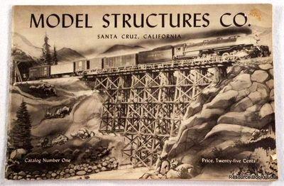 Model Structures Co., Santa Cruz, California. Catalog Number - Model Roundhouse Railroad
