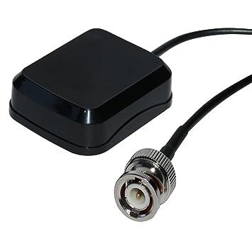 AERZETIX: Antena GPS BNC macho para coche compatible con Garmin ...