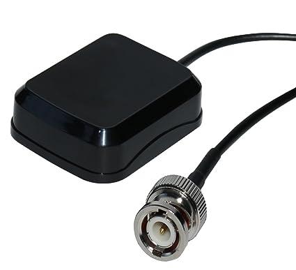AERZETIX: Antena GPS BNC macho para coche compatible con Garmin navegacion C10983