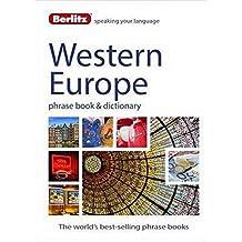Berlitz Language: West European Phrase Book & Dictionary: French, German, Italian, Spanish, Dutch, Portuguese, Greek, Turkish