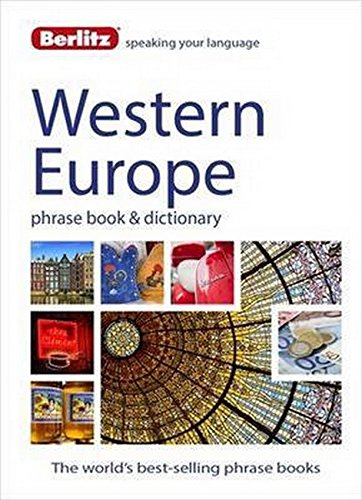 Berlitz Language: West European Phrase Book & Dictionary: French, German, Italian, Spanish, Dutch, Portuguese, Greek, Turkish (Berlitz Phrasebooks) (Greek Language Learn Free)