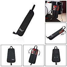 Andoer Drum Stick Bag Case Water-resistant 600D with Carrying Strap for Drumsticks