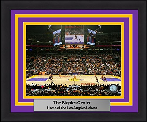 los-angeles-lakers-staples-center-8-x-10-framed-and-matted-photo