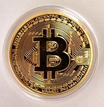 999 Fine Gold Bitcoin Commemorative Round Collectors Coin