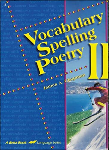 Vocabulary Spelling Poetry II (A Beka Book Language Series