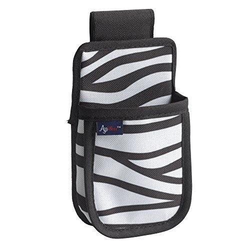 Drive Medical AgeWise Walker Rollator Phone Case, Zebra Drive Medical Walker Basket