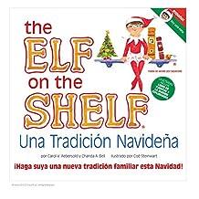 The Elf on the Shelf Libro con Duende Niña en Español