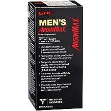 GNC Men's ArginMax, Sexual Health Formula for Men - 90 Caplets