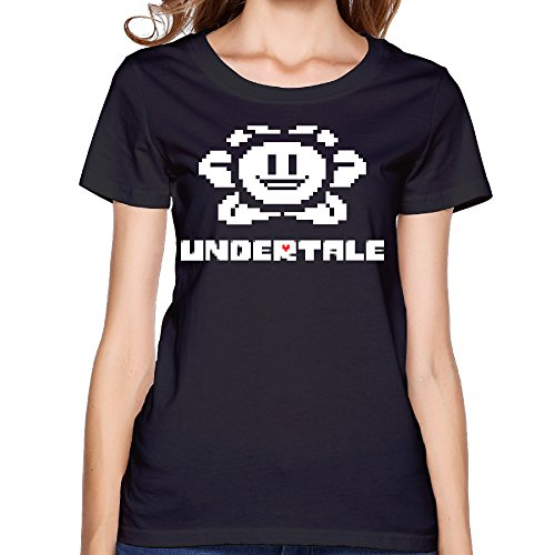 Price comparison product image CEDAEI Undertale Role-playing Video Game Logo Women's Funniest T-shirt XS Black