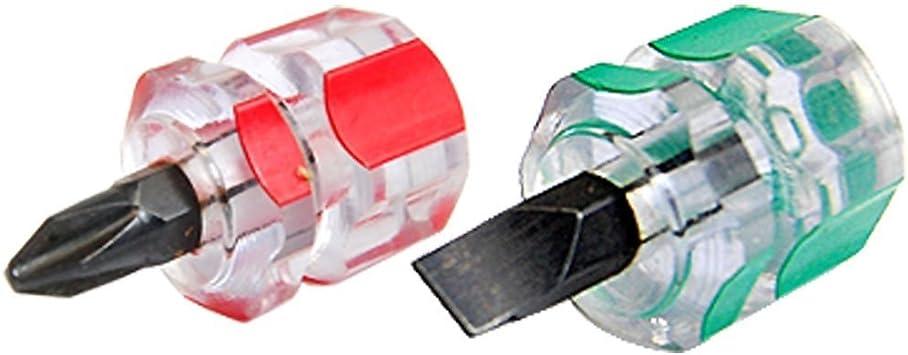 REFURBISHHOUSE Conjunto de mini destornillador corto rechoncho de ...