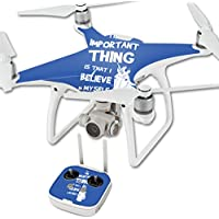 Skin For DJI Phantom 4 Quadcopter Drone – Unicorns Believe   MightySkins Protective, Durable, and Unique Vinyl Decal wrap cover   Easy To Apply, Remove, and Change Styles   Made in the USA