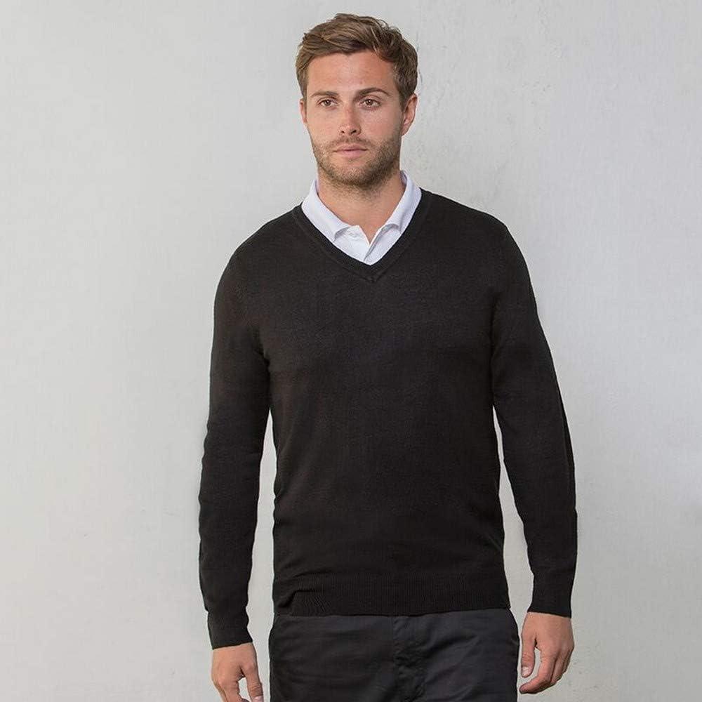 RTY Workwear Mens V-Neck Arcylic Wool Sweater//Sweatshirt