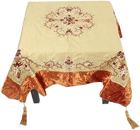 Jaipur Textile Hub Indio Camino de Mesa Juegos Brocade de Seda ...