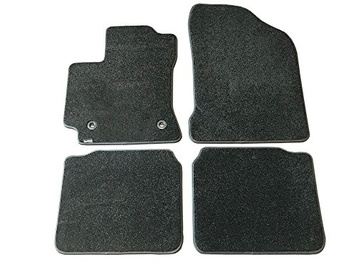(CarsCover Custom Fit 2014-2018 Toyota Corolla Front and Rear Carpet Car Floor Mats Heavy Cushion Ultramax Asphalt Black)