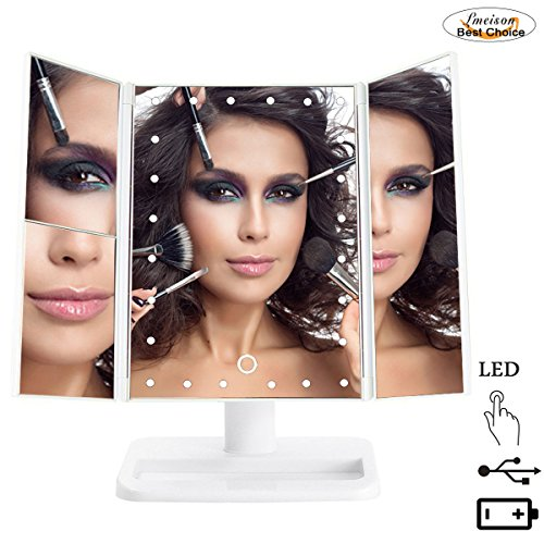 lmeison-tri-fold-lighted-vanity-mirror-24-led-lighted-countertop-cosmetic-makeup-mirror-with-2x-3x-m