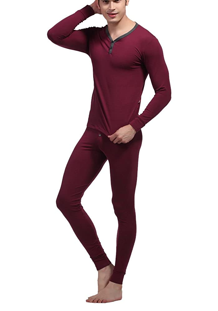 Louis Rouse Men's Cotton Thermal Underwear Suit BM1205