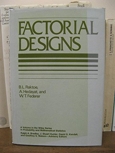 Factorial Designs (Probability & Mathematical - Factorial Design