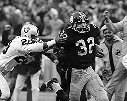 63a049931 Pittsburgh Steelers Franco Harris The Immaculate Reception 8x10 Photograph