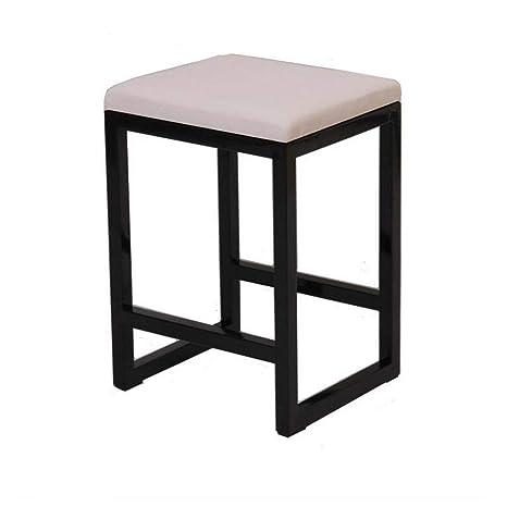 Miraculous Amazon Com Qiqi Life Simple Iron Vanity Stool Footstool Frankydiablos Diy Chair Ideas Frankydiabloscom