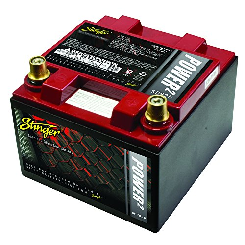 Stinger SPP925 925 Amp SPP Series Dry Cell Battery with Protective Steel Case by Stinger