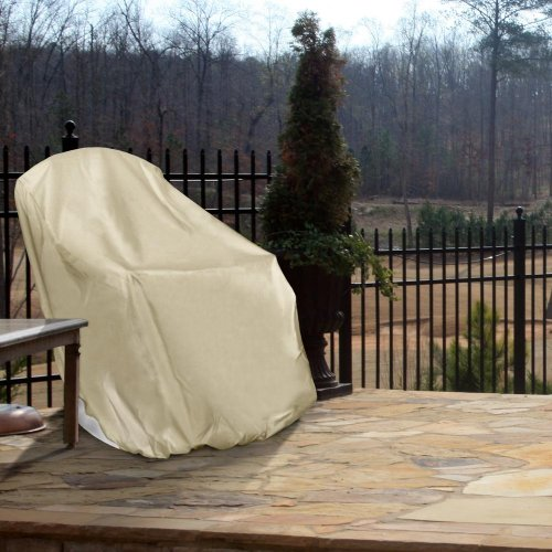 Hearth garden sf40224 adirondack chair cover patio furniture covers patio and furniture Home and hearth patio furniture