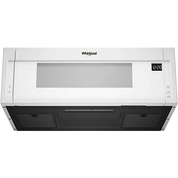 Whirlpool 1.1 Cu. Ft. White Low Profile Microwave Hood Combination - WML55011HW