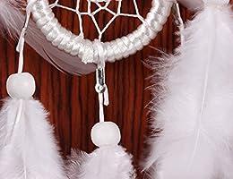 Ailiebhaus atrapasue/ños grande blanco colgante hecho a mano para habitaciones Auto Decoraci/ón