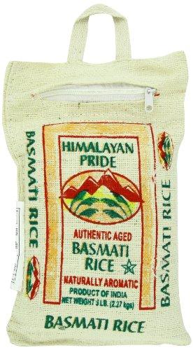 Himalayan Pride Basmati Rice, Indian, 5 (Indian Basmati Rice)