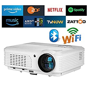 Eug Wxga Lcd Bluetooth Hd Wifi Projector 4200 Lumen 1080p