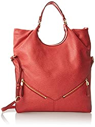 Nine West Here Comes The Sun Cross Body Bag, Coral, One Size
