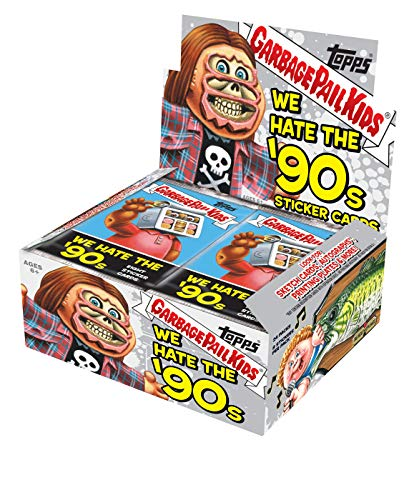 Garbage Pail Kids Series 1 We Hate The 90's Retail Display Box Trading Sticker ()