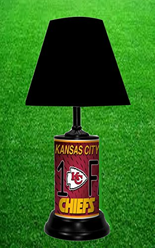 KANSAS CITY CHIEFS TABLE LAMP -