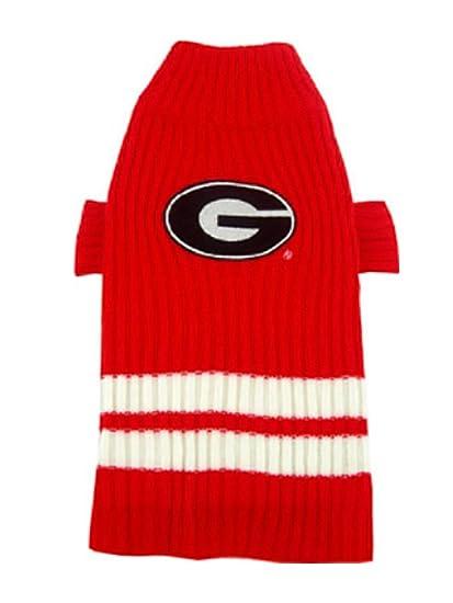 297c1ef9590 Amazon.com   Pets First Collegiate Georgia Bulldogs Pet Sweater ...