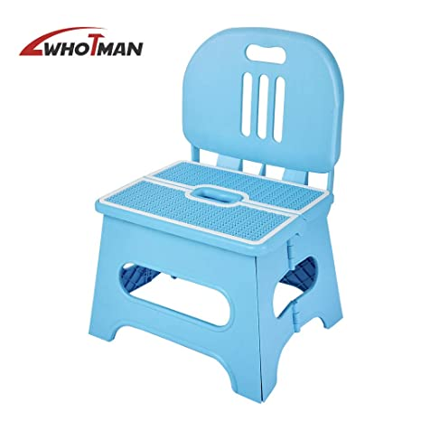 Fantastic Whotman Folding Step Stool Portable Lightweight Step Stool Plastic Non Slip Foot Stool For Kids And Adults Foldable Kitchen Step Stool Ideal For Pabps2019 Chair Design Images Pabps2019Com