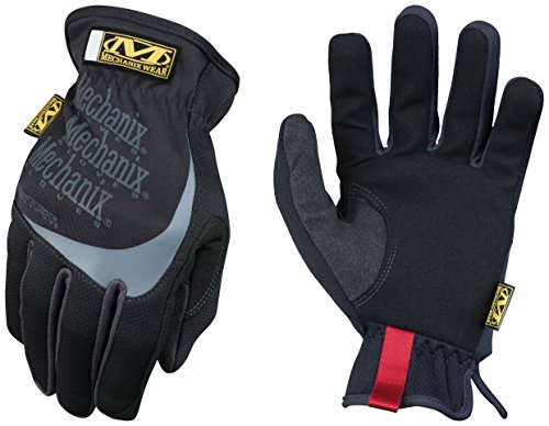 Glove 008 Fit Fast (Mechanix Wear - FastFit Gloves (Small, Black))